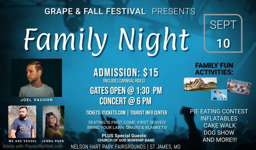 GFF FAMILY NIGHT BOOKLET - Made with PosterMyWall